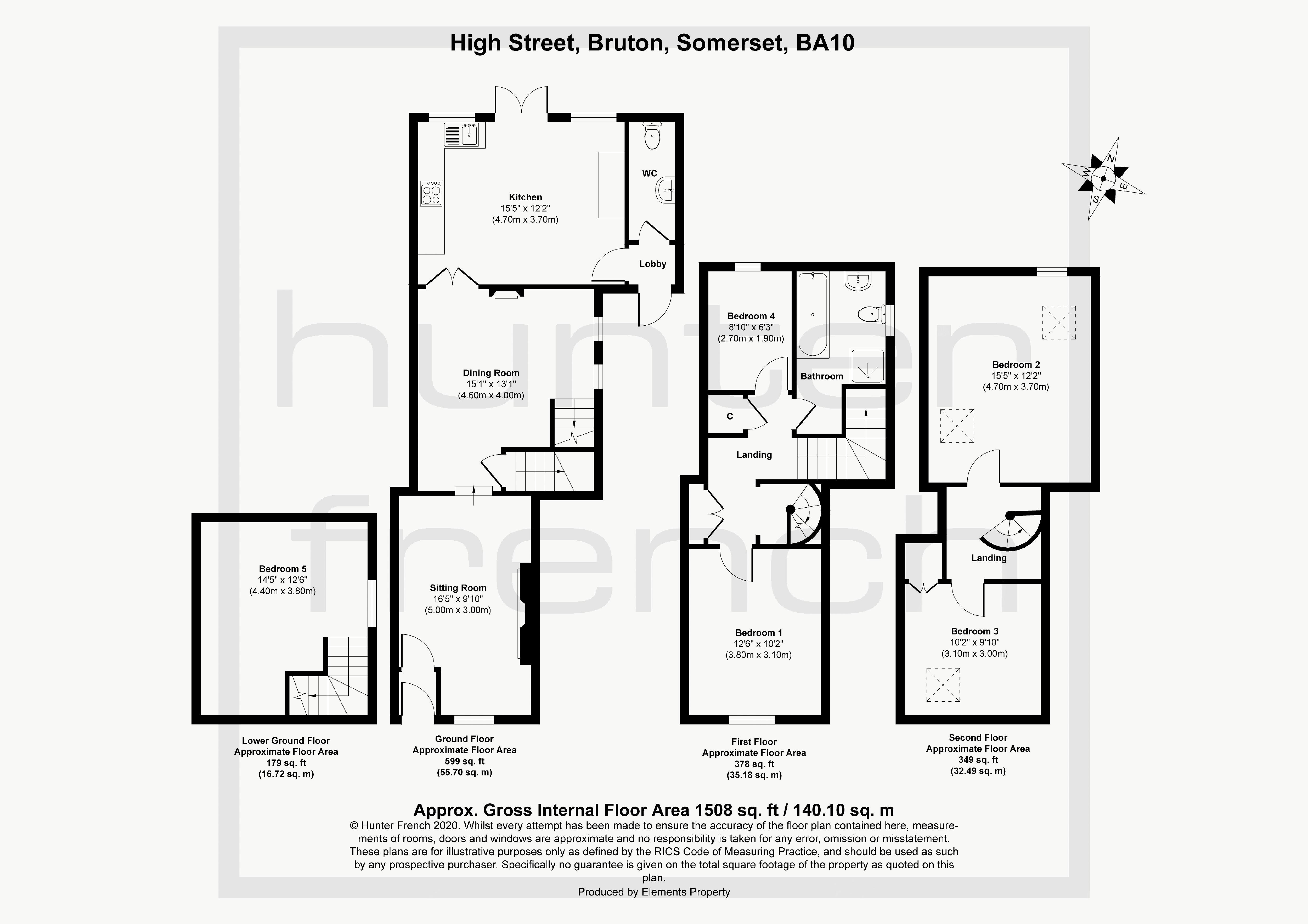 37 The High Street Floorplan