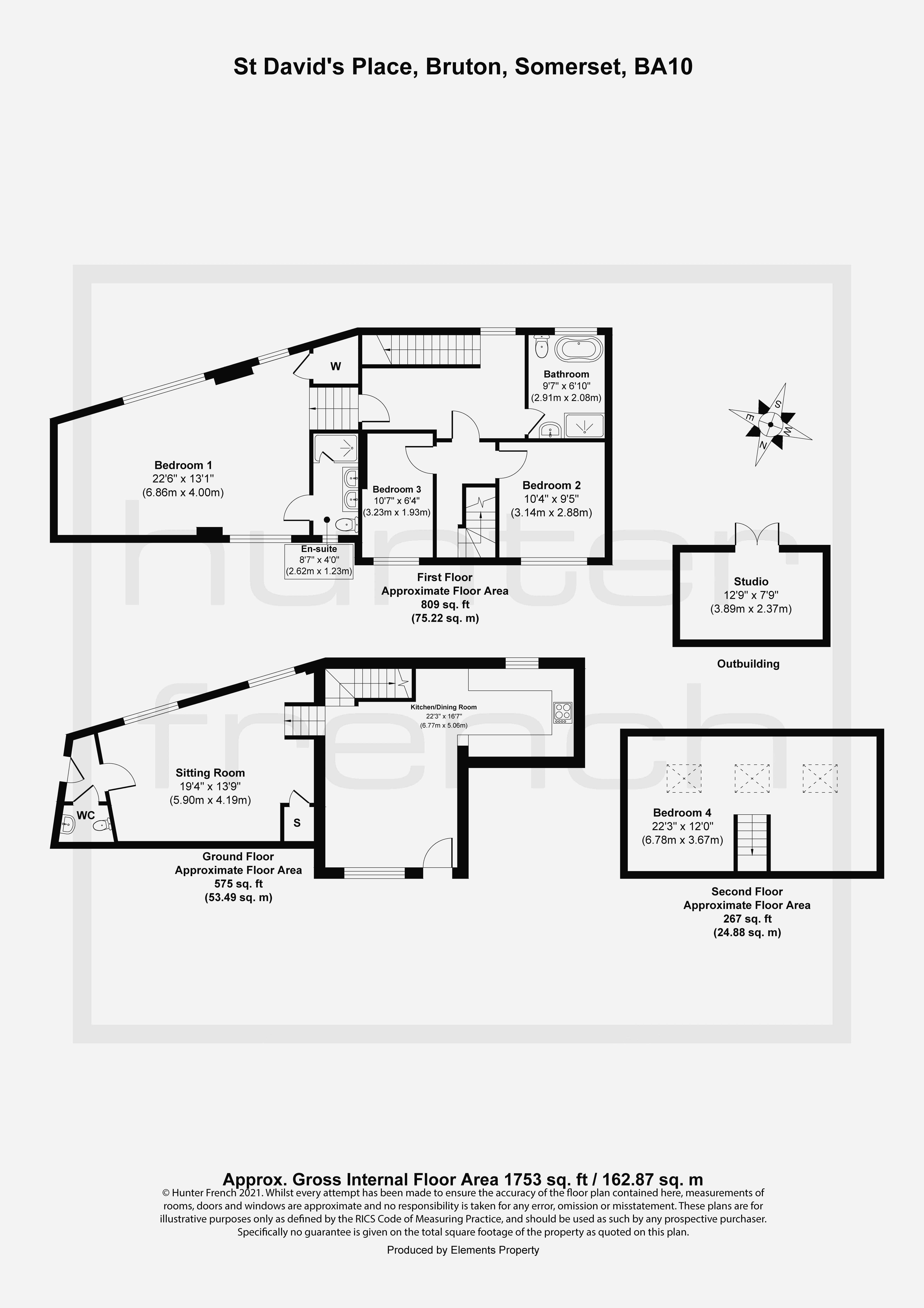 7 St Davids Place Floorplan