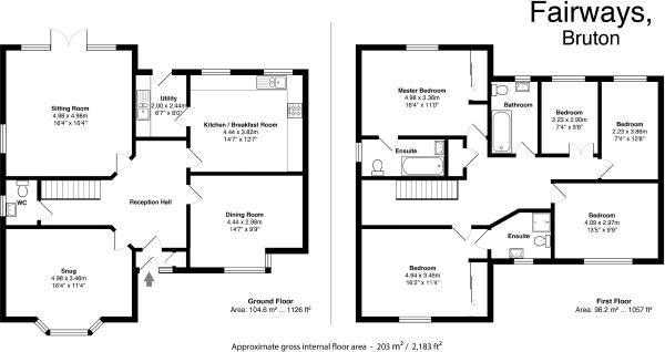 Fairways Floorplan