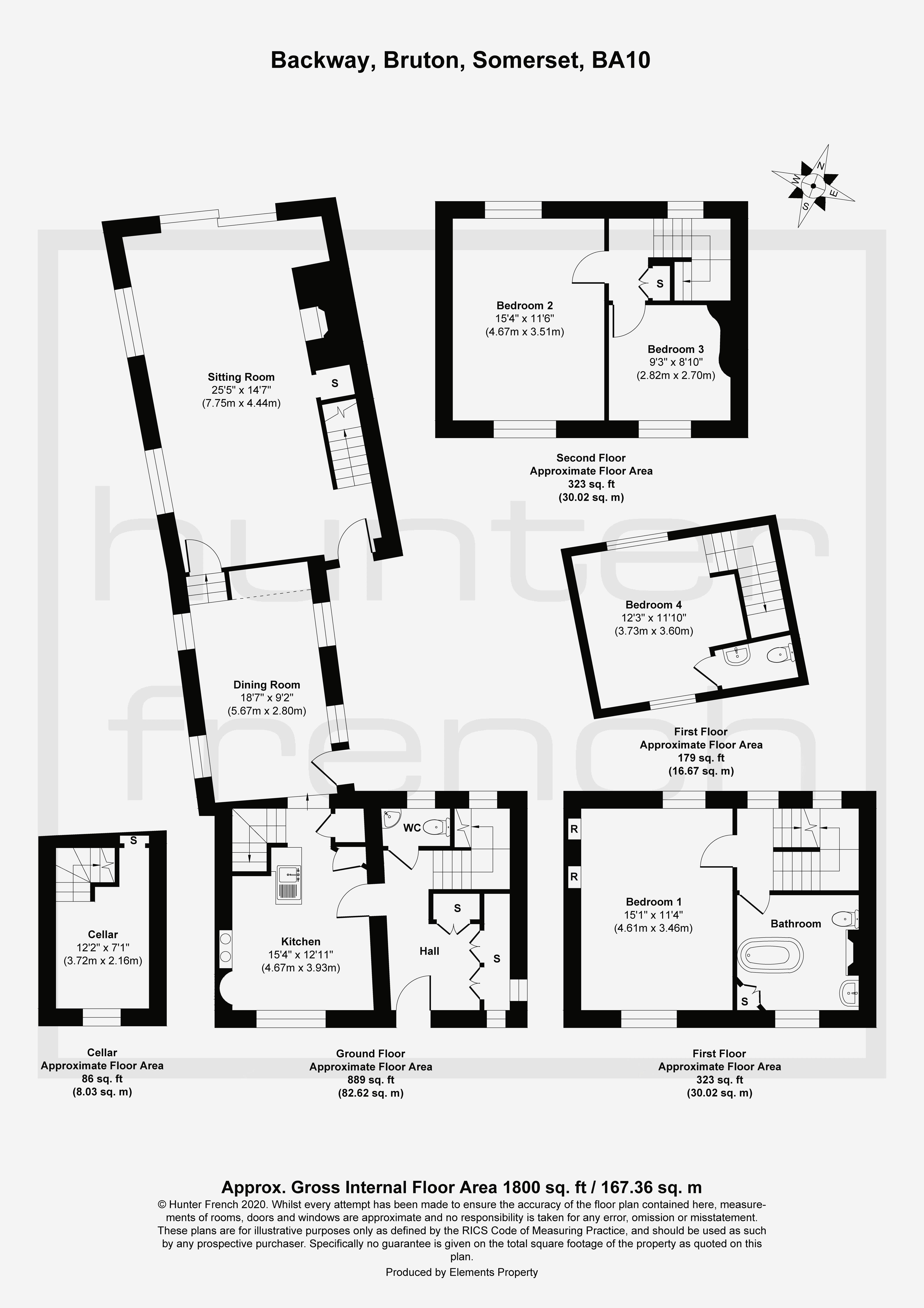 14 Higher Backway Floorplan