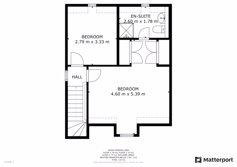 Floorplan Second Floor