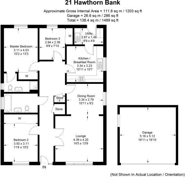 Hawthorn Bank Floorplan