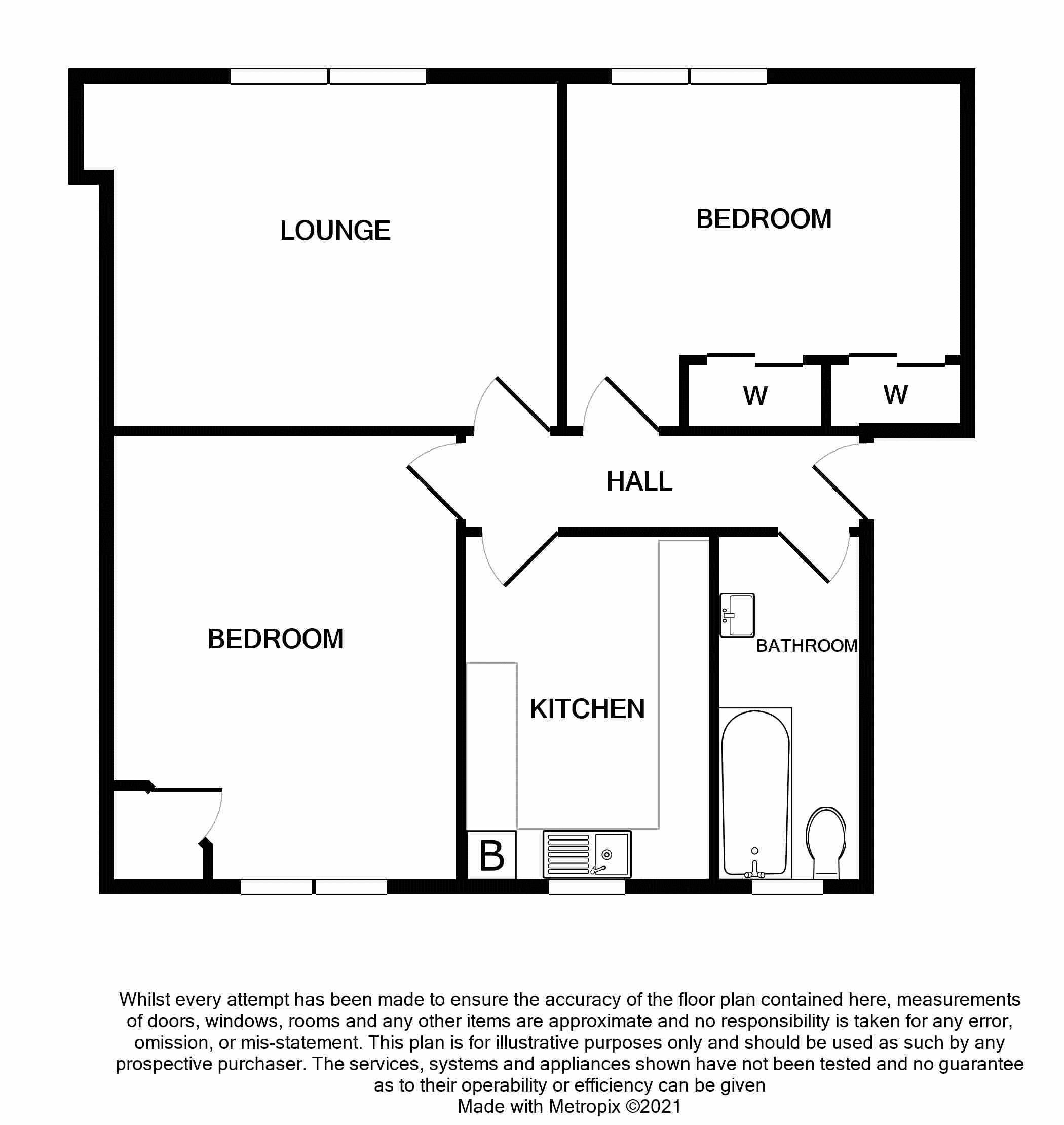 Floor Plan 15 Arklay Terrace