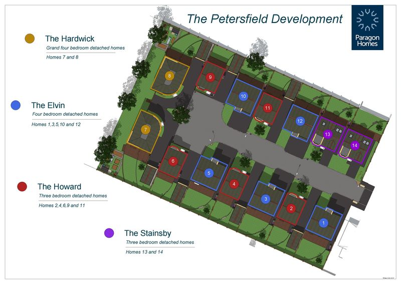 Plot 5, Petersfield, Elvin Way New Tupton