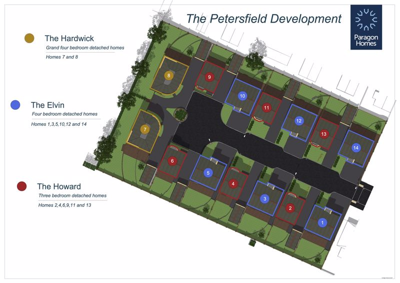 Plot 13, Petersfield, Elvin Way New Tupton