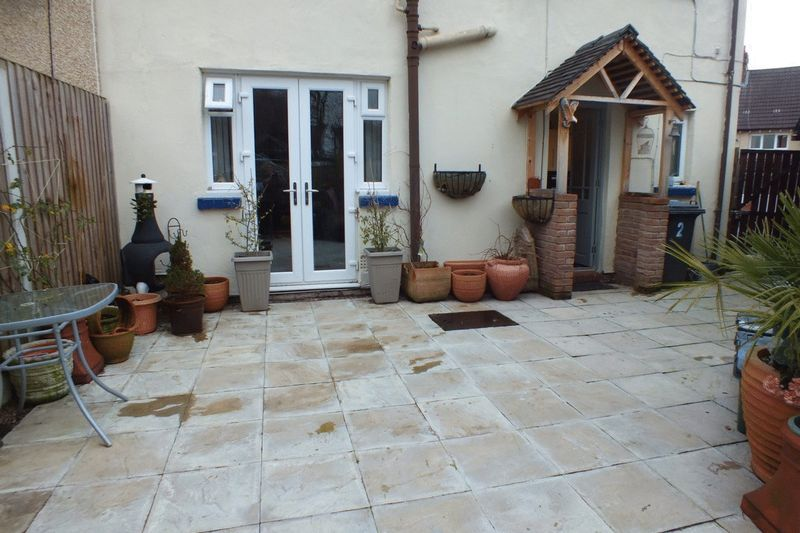 REAR GARDEN PATIO AREA