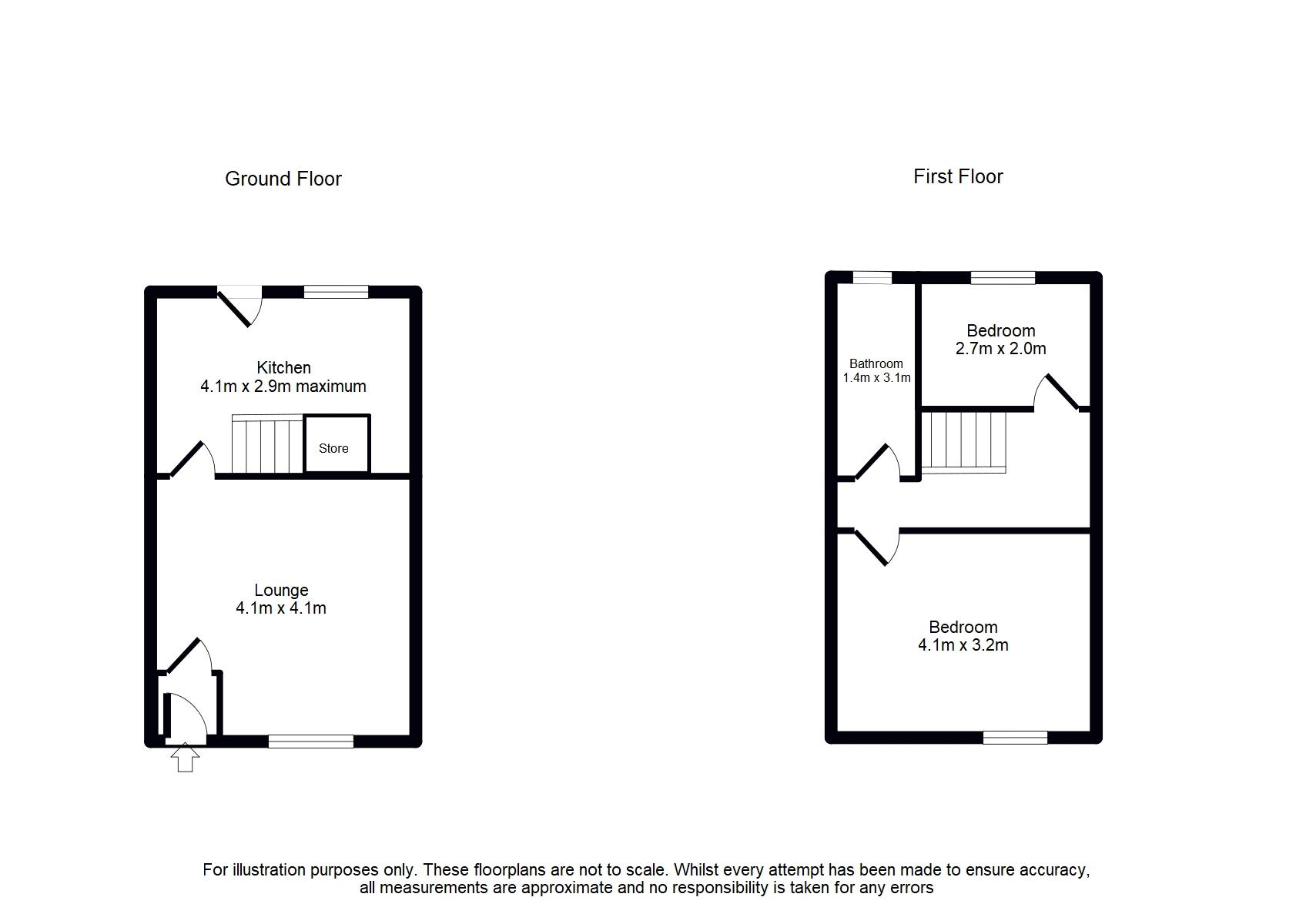318 Tottington Road, Bury Floorplan