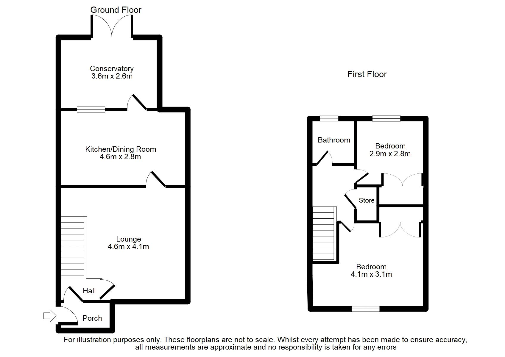 20 Harrison Close, Norden Floorplan