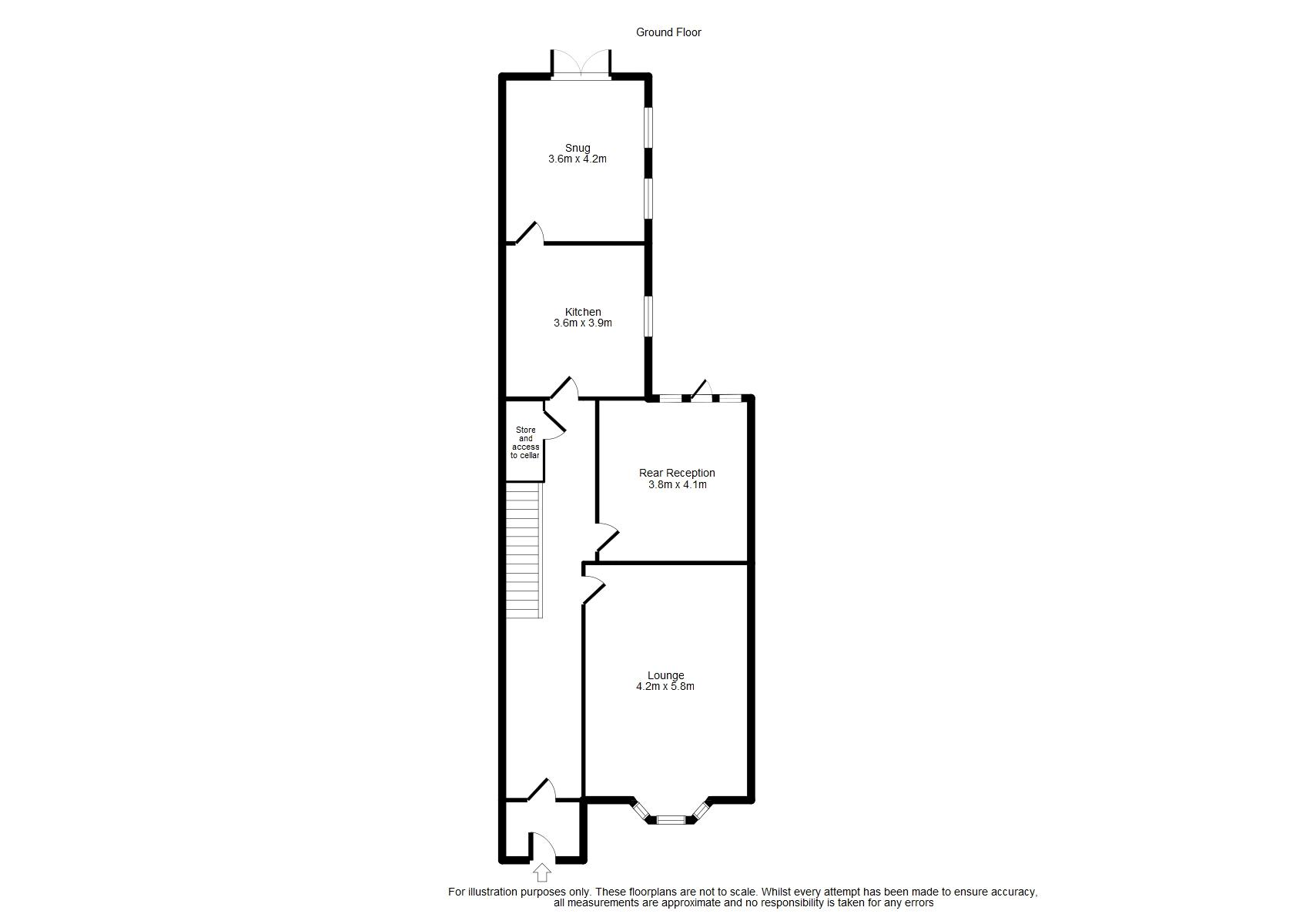 Ground Floor Floorplan
