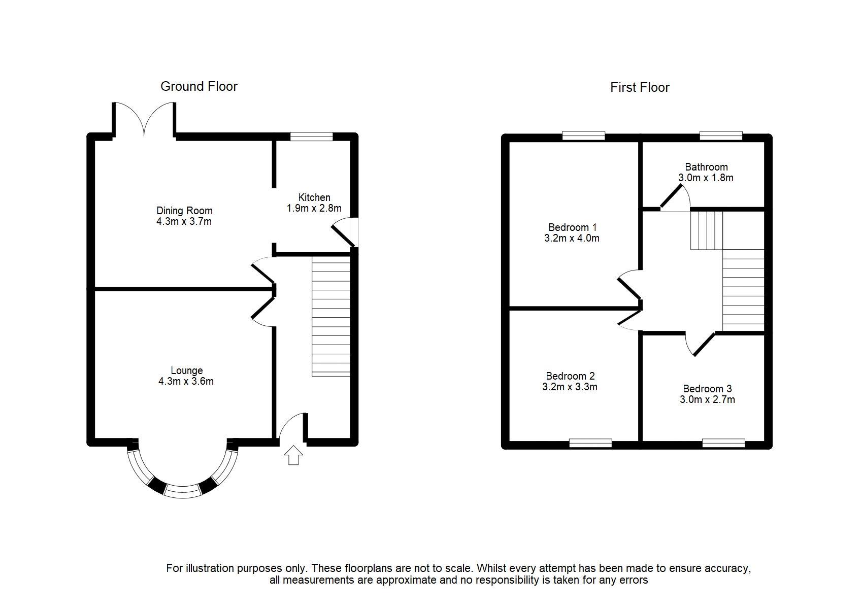 101 Horne Street, Bury Floorplan