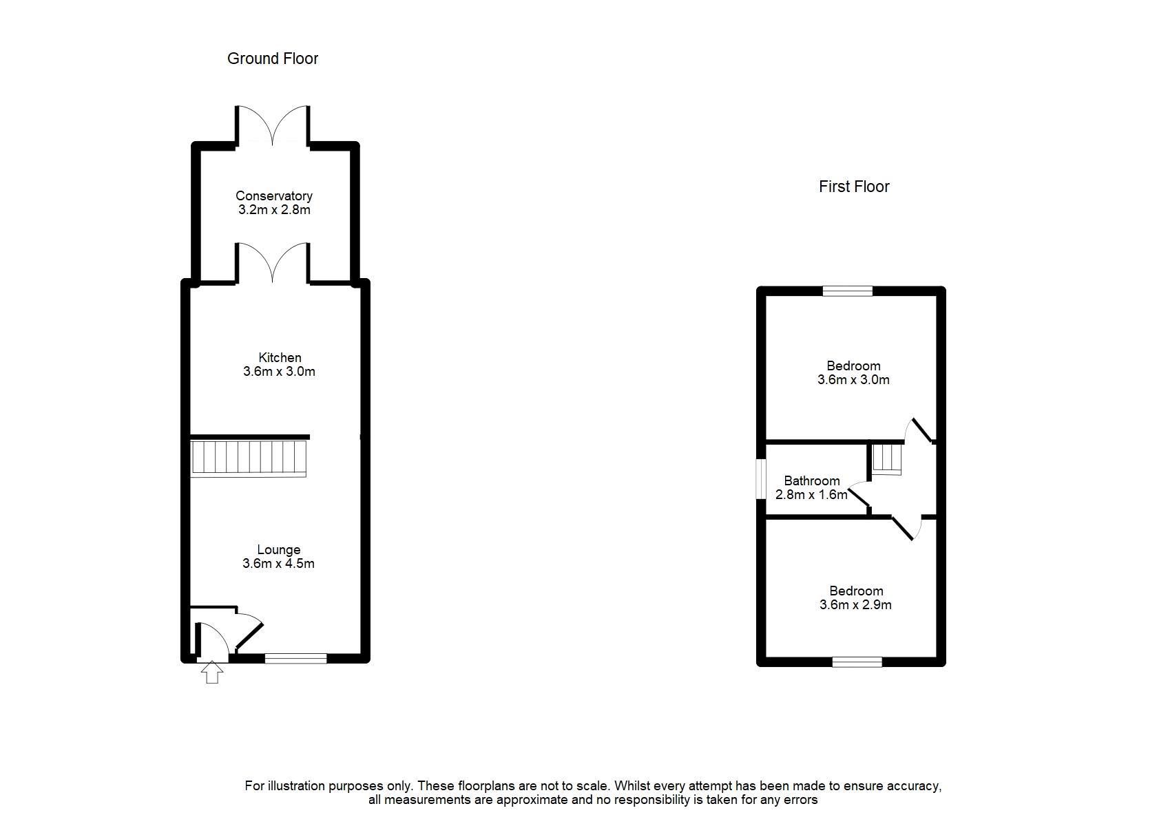 9 Keld Close, Tottington Floorplan