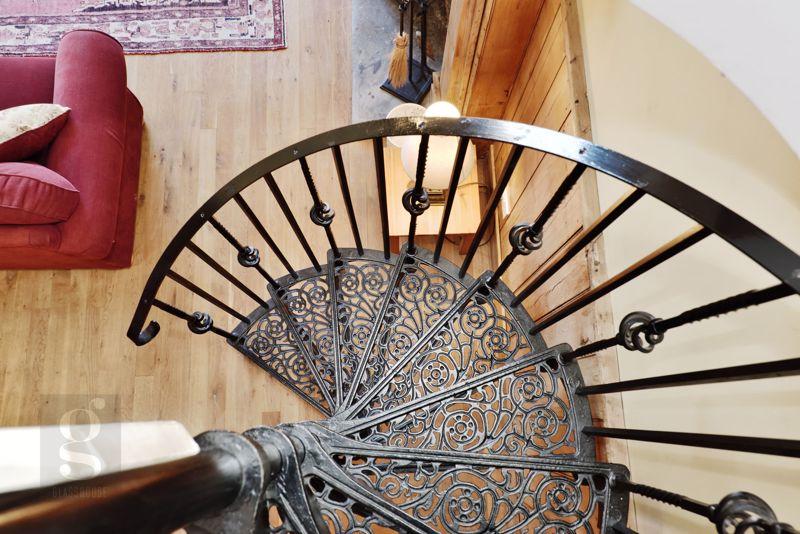 Spiral Stairs To Mezzanine