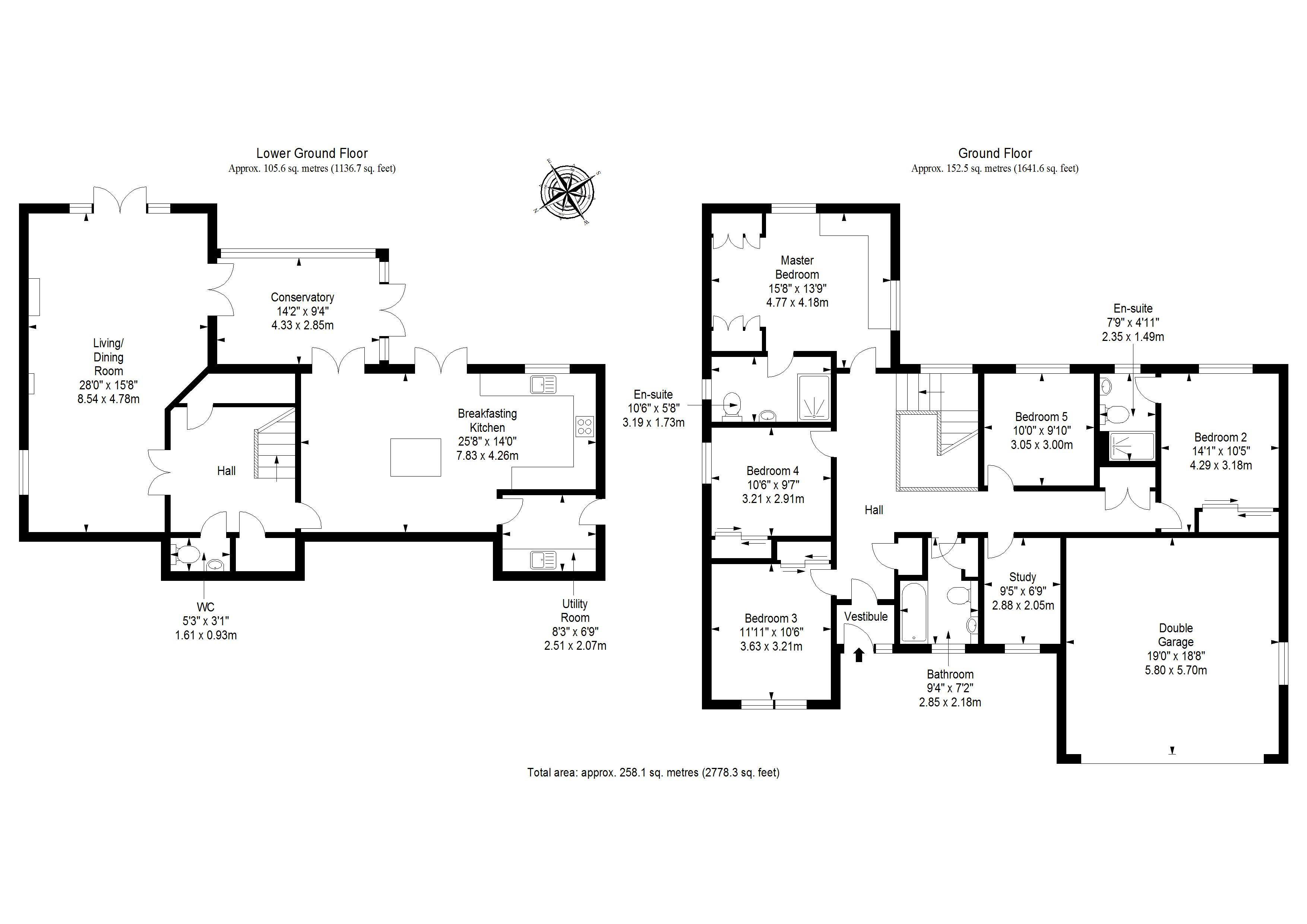 St Ronans Way Floorplan