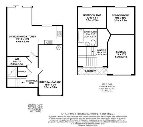 Mill Lane - Floorplan