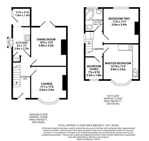 Silverdale Avenue - Floorplan
