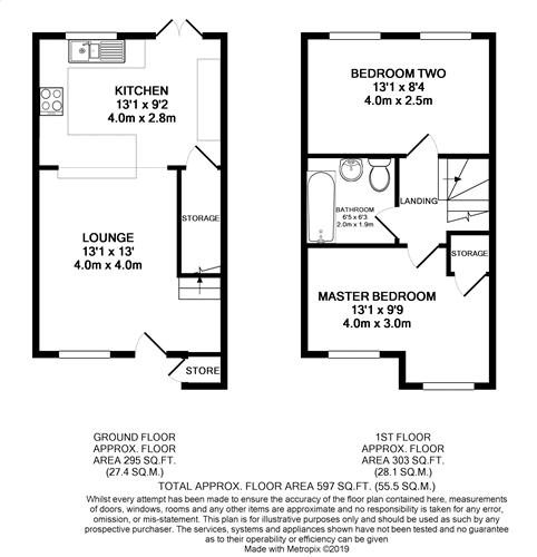 Primrose Court - Floorplan