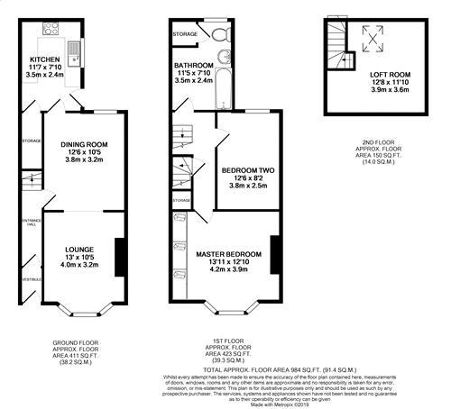 Myndon Street - Floorplan