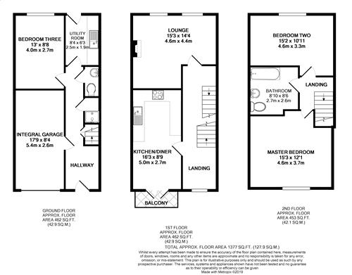 Redruth Drive - Floorplan