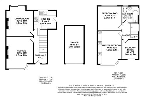 Heysham Hall Drive - Floorplan