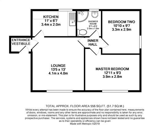 Ellershaw House - Floorplan