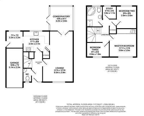 Winmarleigh Road - Floorplan