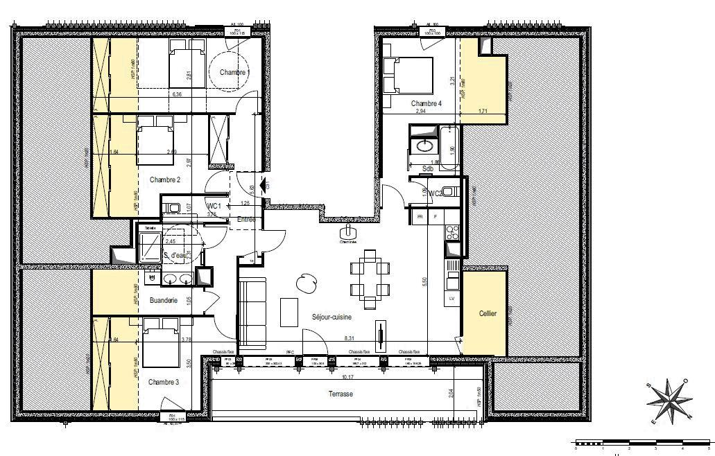 4 bed - 2