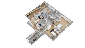 Les Carroz - Residence l'Estellan (2 Bed)