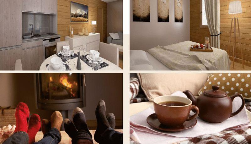 LES DEUX ALPES-LE CHALET DU SOLEIL (2 BED + CABIN)