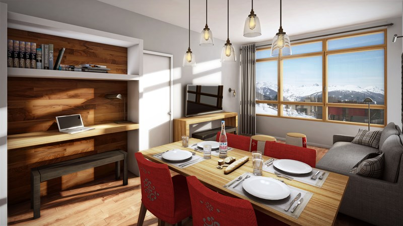 Les Arcs 1800 - Edenarc Final Phase III (2 bed)