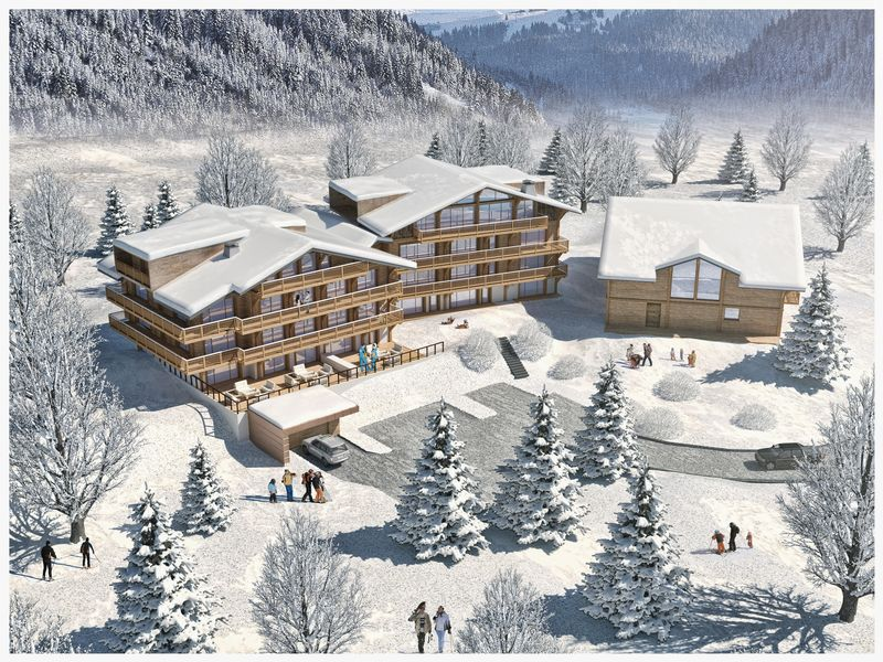 CHATEL - LES LODGES DE CELESTIN (1BED) CHATEL