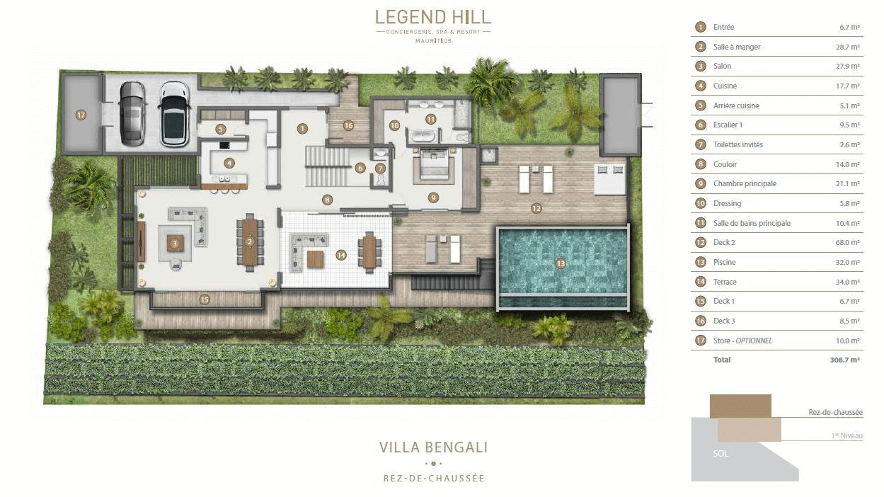 Villa - Ground floor
