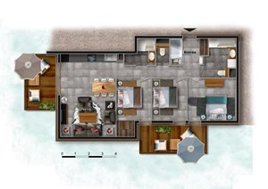 Chatel - 4 Elements (2 bed)