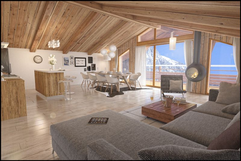 CHATEL - LES LODGES DE CELESTIN (4BED) CHATEL