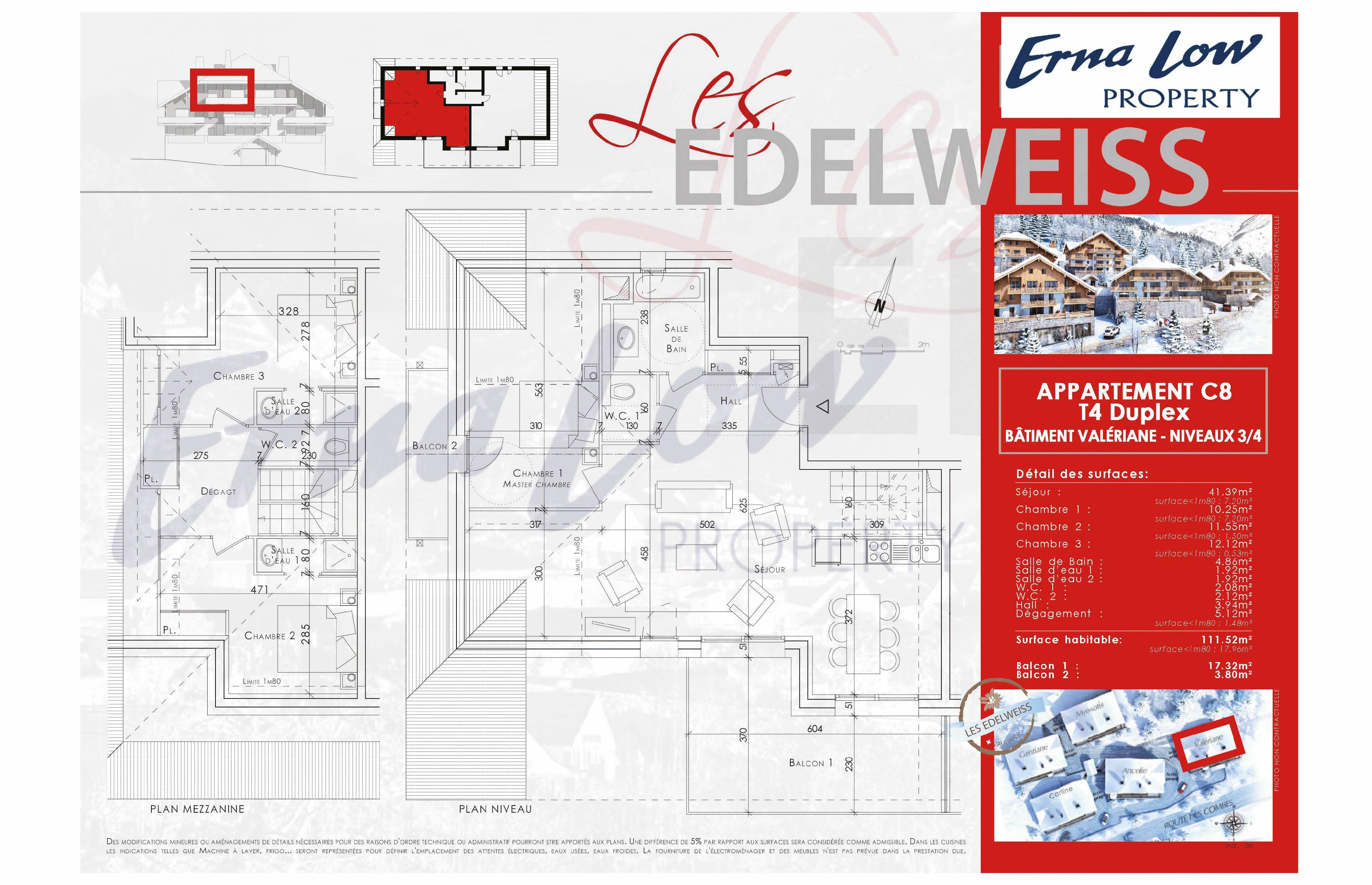 VAUJANY- LES EDELWEISS (3 BED) VAUJANY