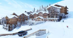 The White Pearl - La Plagne (3bed)