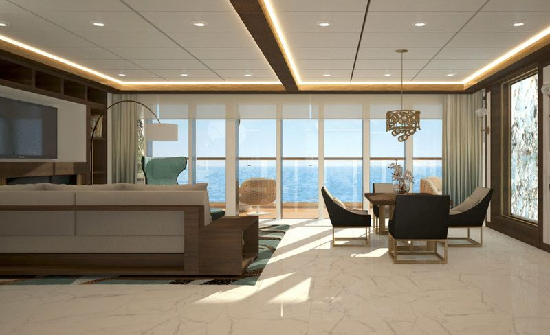 Cruise ship - One Bedroom Residence