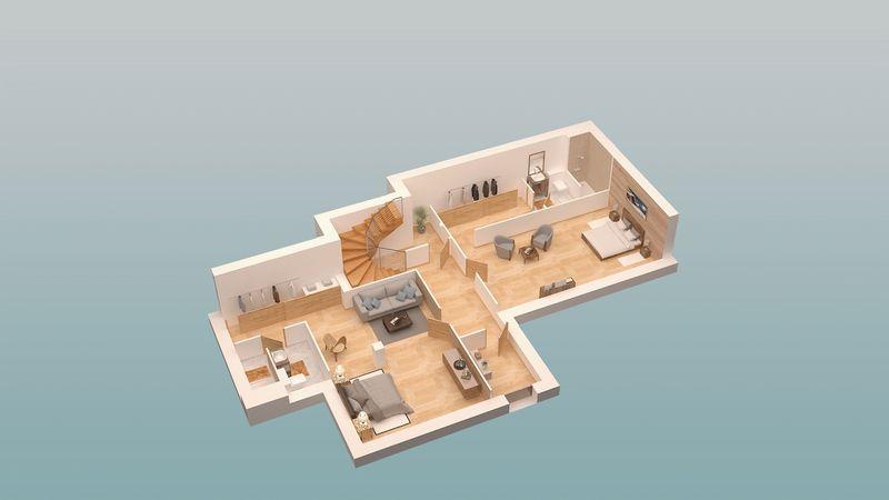 COMBLOUX - CHALETS - LES FERMES DU MONT BLANC (6 BED) EVASION MONT BLANC
