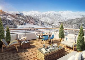 La Plagne Centre - Lodges 1970 (2 bed) - Paradiski