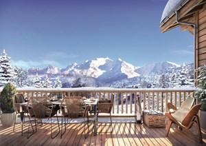 Combloux - Chalets - Les Fermes du Mont Blanc (4 beds)