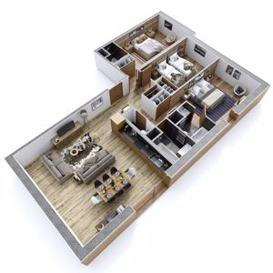 MEGEVE - ALTIMA (3 Bed)