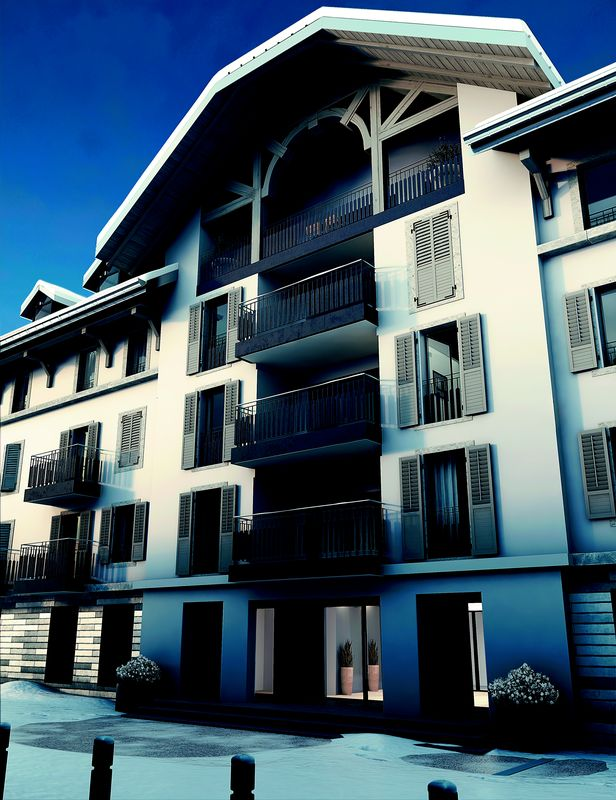 Gallery Mont Blanc - 2bed St-Gervais-Les-Bains