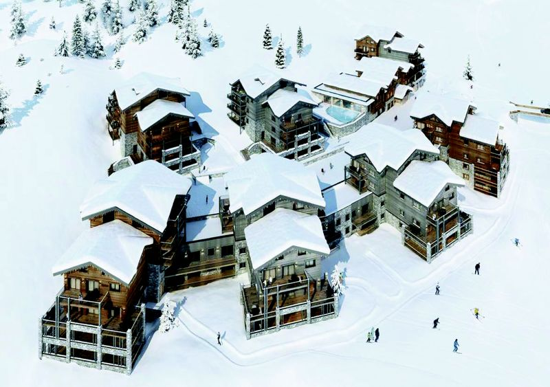 The White Pearl - La Plagne (2bed)