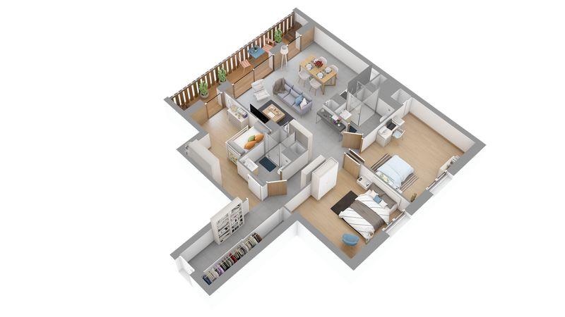 LES CARROZ - Residence l'Estellan (3 beds)