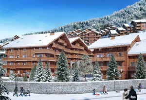 Meribel Centre - L'Hevana (3 Beds)