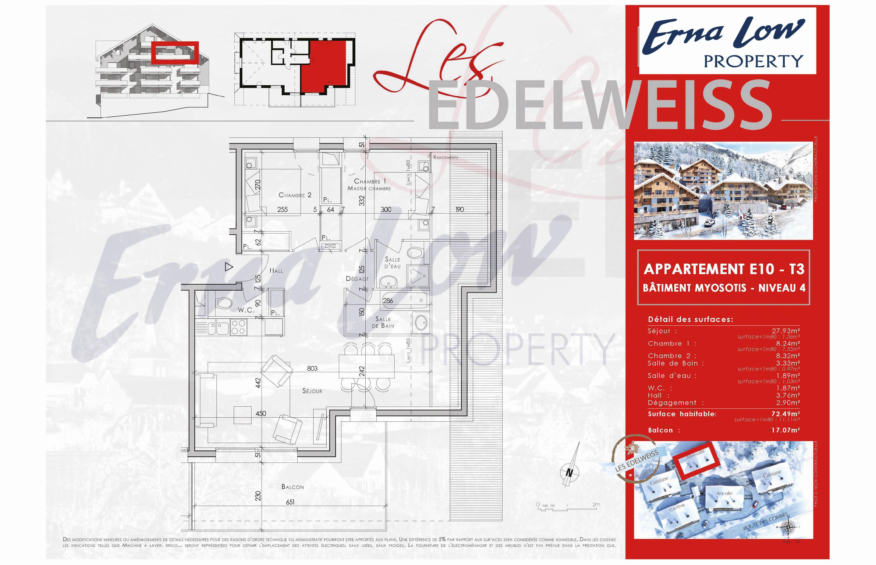 VAUJANY- LES EDELWEISS (2 BED) VAUJANY