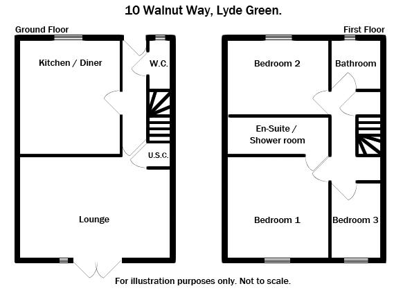 Walnut Way Lyde Green