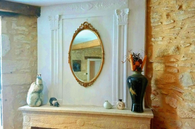 Mantlepiece feature