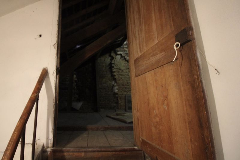 Entrance to the attic