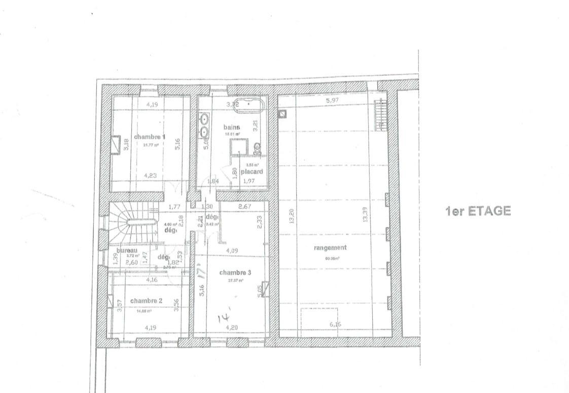 Floor plan, first floor