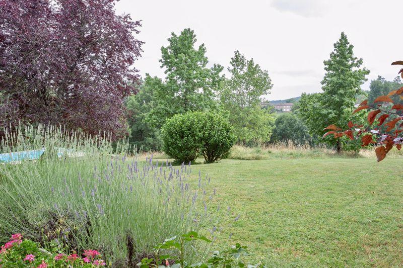 Garden seen from the gite